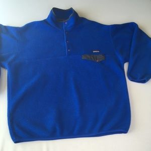 Patagonia pullover blue sweater Sz xl